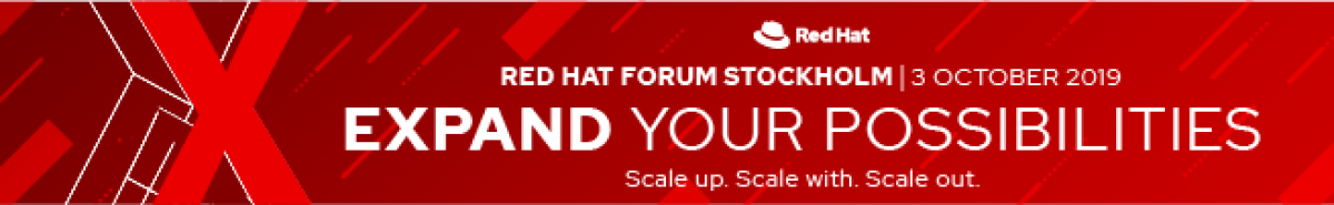 Red Hat Forum Stockholm