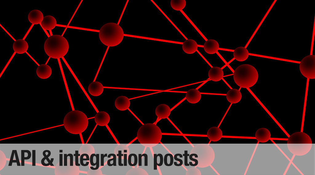 API & Integration blog posts