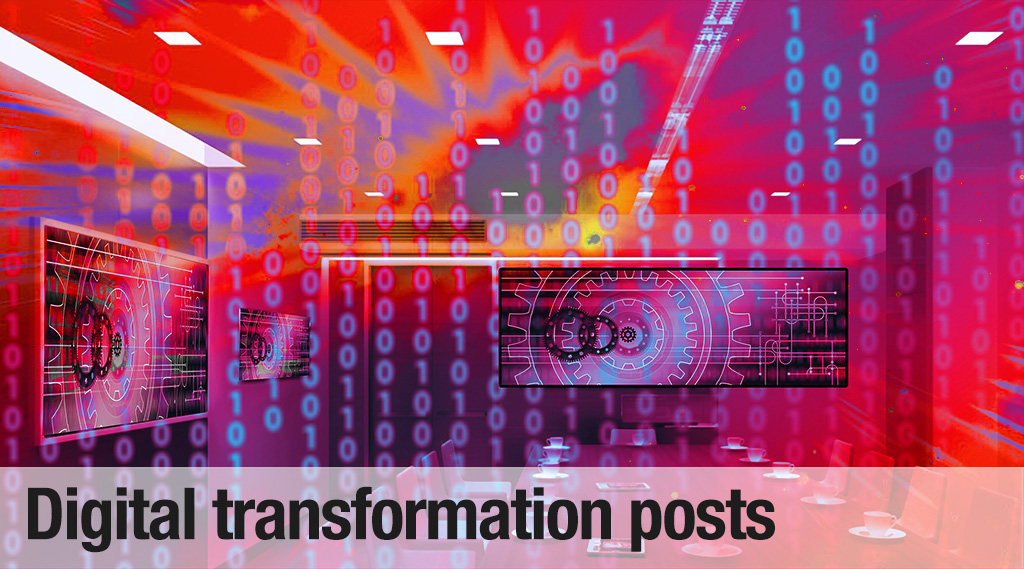 Digital transformation blog posts