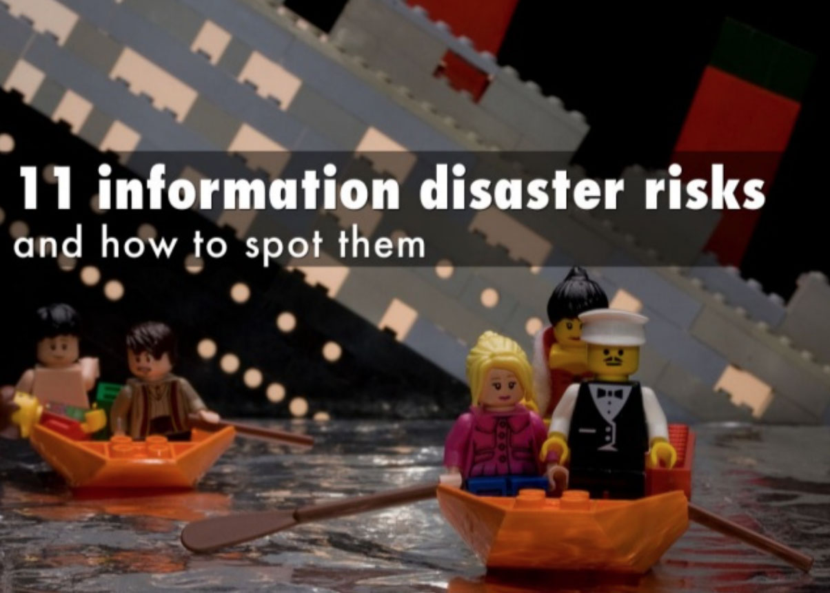 Information disaster